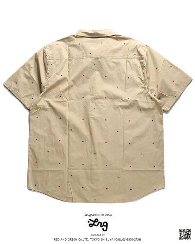 LRG(エルアールジー)の半袖シャツ(総柄)