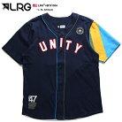 エルアールジー LRG ベースボールシャツ ゲームシャツ 半袖 メンズ 紺 L XL 2L LL 大きいサ…