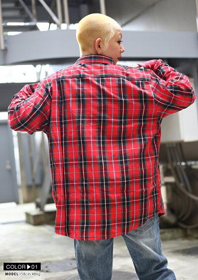 LRG(エルアールジー)の長袖シャツ(チェック柄)