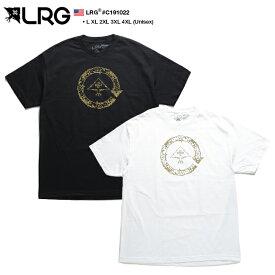 エルアールジー LRG Tシャツ 半袖 メンズ レディース 黒 白 L XL 2L LL 2XL 3L XXL 3XL 4L XXXL 4XL 5L XXXXL 大きいサイズ b系 ヒップホップ ストリート系 ファッション ブランド 服 かっこいい おしゃれ バロック調 金箔プリント オーバーサイズ ビッグシルエット C191022