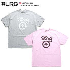 エルアールジー LRG Tシャツ 半袖 メンズ レディース グレー ピンク L XL 2L LL 2XL 3L XXL 3XL 4L XXXL 4XL 5L XXXXL 大きいサイズ b系 ヒップホップ ストリート系 ファッション ブランド 服 かっこいい おしゃれ 定番 プリント オーバーサイズ ビッグシルエット J181013