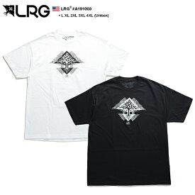 エルアールジー LRG Tシャツ 半袖 メンズ レディース 白 黒 L XL 2L LL 2XL 3L XXL 3XL 4L XXXL 4XL 5L XXXXL 大きいサイズ b系 ヒップホップ ストリート系 ファッション ブランド 服 かっこいい おしゃれ 幾何学柄 プリント オーバーサイズ ビッグシルエット A191003