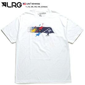 エルアールジー LRG Tシャツ 半袖 メンズ レディース 白 L XL 2L LL 2XL 3L XXL 3XL 4L XXXL 4XL 5L XXXXL 大きいサイズ b系 ヒップホップ ストリート系 ファッション ブランド 服 かっこいい おしゃれ カラフル 星 ライン グラデーション ビッグシルエット ギフト E191032