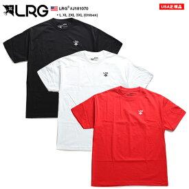 エルアールジー LRG Tシャツ 半袖 メンズ 黒 白 赤 L XL 2L LL 2XL 3L XXL 3XL 4L XXXL 大きいサイズ b系 ヒップホップ ストリート系 ファッション ブランド おしゃれ 定番ロゴ シンプル ワンポイント ゆったり オーバーサイズ ビッグシルエット J181070