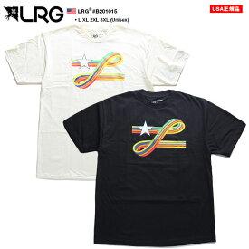 エルアールジー LRG Tシャツ 半袖 グラデーション メンズ カーキ 黒 L XL 2L LL 2XL 3L XXL 3XL 4L XXXL 大きいサイズ b系 ヒップホップ ストリート系 ファッション ブランド おしゃれ スペクトルカラー ロゴ ゆったりサイズ オーバーサイズ ビッグシルエット B201015