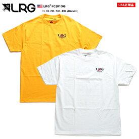 LRG Tシャツ 半袖 メンズ レディース ゴールド 白 L-2XL 大きいサイズ エルアールジー おしゃれ マリンスポーツ ヨットマン 船の舵 ハンドル シンプル ゆったり b系 ヒップホップ ストリート系 ファッション ブランド C201008【セール】