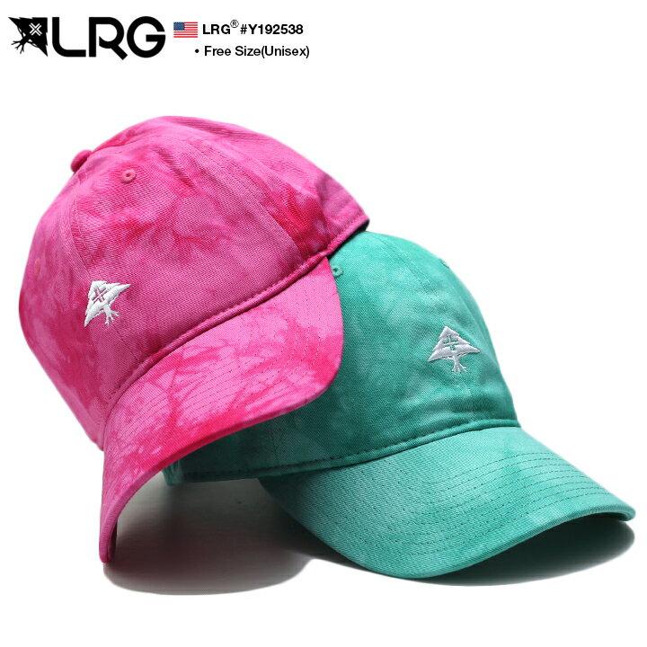 エルアールジー LRG 帽子 キャップ ローキャップ ボールキャップ CAP メンズ レディース ピンク 緑 男女兼用 b系 ヒップホップ ストリート系 ファッション ブランド 定番 ツリーロゴ 刺繍 タイダイ染め ムラ染め 総柄 シンプル ワンポイント かっこいい おしゃれ Y192538