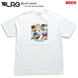 エルアールジー LRG Tシャツ 半袖 メンズ レディース 白 L XL 2L LL 2XL 3L XXL 3XL 4L XXXL 4XL 5L XXXXL 大きいサイズ b系 ヒップホップ ストリート系 ファッション ブランド 服 かっこいい おしゃれ グラデーション 迷彩柄 総柄 ゆったり ビッグシルエット J201025