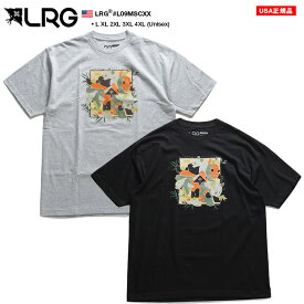 エルアールジー LRG Tシャツ 半袖 BOXロゴ メンズ レディース 男女兼用 グレー 黒 L XL 2L LL 2XL 3L XXL 3XL 4L XXXL 4XL 5L XXXXL 大きいサイズ b系 ヒップホップ ストリート系 ファッション ブランド 服 かっこいい おしゃれ ボックスロゴ プリント ギフト L09MSCXX
