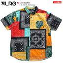 エルアールジー LRG 半袖シャツ メンズ 黒 L XL 2L LL 2XL 3L XXL 3XL 4L XXXL 4XL 5L XXXXL 大きいサイズ b系 ヒップ…