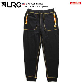 エルアールジー LRG スウェットパンツ イージーパンツ ロングパンツ 長ズボン メンズ レディース 男女兼用 黒 M L XL 2L LL 2XL 3L XXL 3XL 4L XXXL 4XL 5L XXXXL 大きいサイズ b系 ヒップホップ ストリート系 ファッション ブランド 服 かっこいい ギフト L04PMNKXX