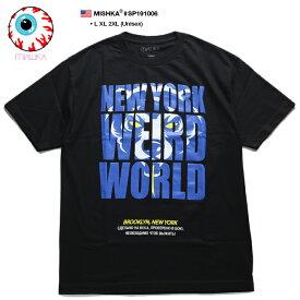 ミシカ MISHKA Tシャツ 半袖 メンズ レディース 黒 L XL 2L LL 2XL 3L XXL 大きいサイズ b系 ヒップホップ ストリート系 ファッション ブランド 服 かっこいい おしゃれ Death Adder デスアダー 熊 人気キャラクター ビッグシルエット パンク ロック バンド ギフト SP191006
