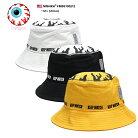ミシカ MISHKA ハット バケットハット バケハ 帽子 メンズ レディース 白 黒 黄色 M L 大き…