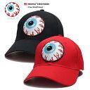 ミシカ MISHKA 帽子 キャップ ローキャップ ボールキャップ CAP メンズ レディース 黒 赤 男女兼用 b系 ヒップホップ ストリート系 ファッション ブランド KEEPWATCH キープウ