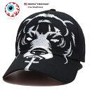 ミシカ MISHKA 帽子 キャップ ローキャップ ボールキャップ CAP メンズ レディース 黒 男女兼用 b系 ヒップホップ ストリート系 ファッション ブランド Death Adder デスアダ