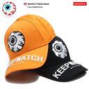ミシカ MISHKA 帽子 キャップ ローキャップ ボールキャップ CAP メンズ レディース オレンジ 黒 男女兼用 b系 ヒップホップ ストリート系 ファッション ブランド KEEPWATCH キ
