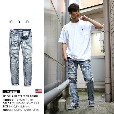 mnml(ミニマル)のジーンズ(ロングパンツ)
