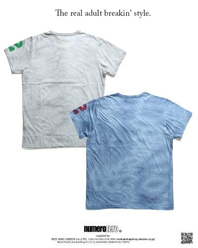 無地(ムジのTシャツ(総柄)