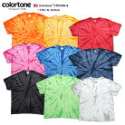 colortone カラートーン タイダイ Tシャツ 半袖 総柄 メンズ レディース S M L XL 2L LL 大…