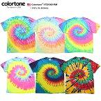 colortoneのタイダイTシャツ