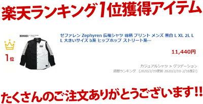 Zephyren(ゼファレン)の長袖シャツ(総柄)