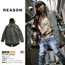 【送料無料】b系 ヒップホップ ストリート系 ファッション メンズ レディース アウター 【W8-06】 リーズン REASON ミリタリー コート …