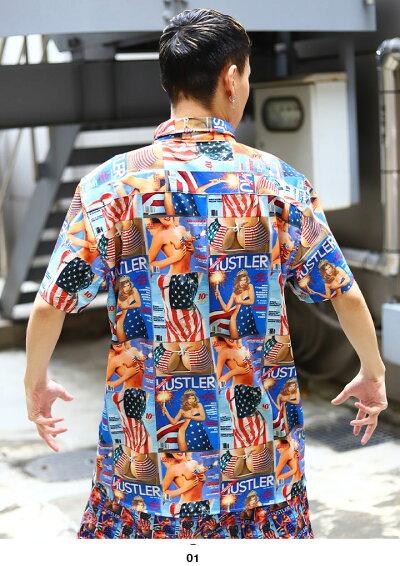 REASON(リーズン)の半袖シャツ(アロハシャツ)