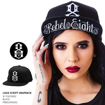 REBEL8(レベルエイト)のキャップ(帽子)