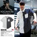 【送料無料】b系 ヒップホップ ストリート系 ファッション メンズ レディース 半袖シャツ 【RW172W05】 ロカウェア RO…
