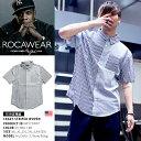 【送料無料】b系 ヒップホップ ストリート系 ファッション メンズ レディース 半袖シャツ 【RW172W07】 ロカウェア RO…