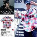 【送料無料】b系 ヒップホップ ストリート系 ファッション 服 メンズ レディース オシャレ 半袖シャツ 【RW172W08】 ロカウェア ROCAWE…