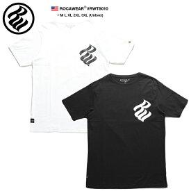 ロカウェア ROCAWEAR Tシャツ 半袖 メンズ レディース 白 黒 M L XL 2L LL 2XL 3L XXL 3XL 4L XXXL 大きいサイズ b系 ヒップホップ ストリート系 ファッション ブランド 服 かっこいい おしゃれ ナンバー ビッグシルエット アメカジ ダンス Bボーイ ギフト RWTS010