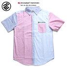【送料無料】ロカウェア ROCAWEAR 半袖シャツ 【RW181W03】メンズ かっこいい パステルカラ…