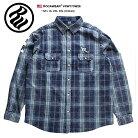 【送料無料】 ロカウェア ROCAWEAR 長袖シャツ 【RW173W26】 メンズ かっこいい おしゃれ 紺…