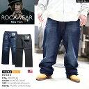 b系 ヒップホップ ストリート系 ファッション メンズ レディース ジーンズ デニム ロングパンツ 【R00J9914A】 ロカウェア ROCAWEAR ジ…