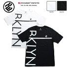 ロカウェア ROCAWEAR Tシャツ 半袖 【RW181T08】 かっこいい BROOKLYN ブルックリン 黒白 ラ…