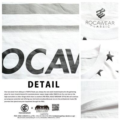 ROCAWEAR(ロカウェア)のTシャツ(総柄)