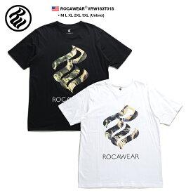 ロカウェア ROCAWEAR Tシャツ 半袖 メンズ レディース 黒 白 M L XL 2L LL 2XL 3L XXL 3XL 4L XXXL 大きいサイズ b系 ヒップホップ ストリート系 ファッション ブランド 服 かっこいい おしゃれ 自由の女神 ナンバー 99 ブルックリン ビッグシルエット RW183T01S