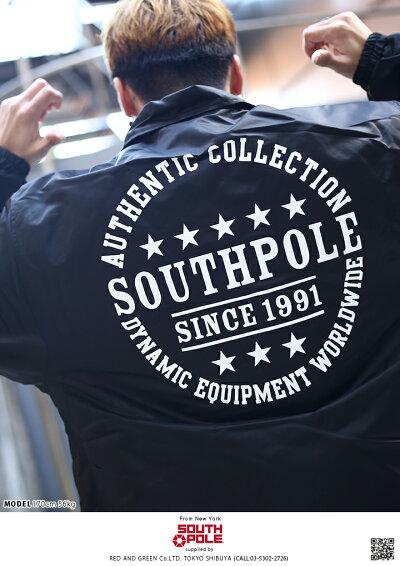 SOUTHPOLE(サウスポール)のコーチジャケット(アウター)
