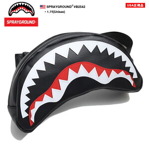 SPRAY GROUND バッグ メンズ レディース 春夏秋冬用 黒 スプレーグラウンド ウエストポーチ ウエストバッグ ウエストバック おしゃれ かっこいい レザー サメの歯 b系 ヒップホップ ファッショ