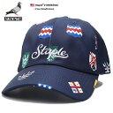 ステイプル STAPLE 帽子 キャップ ローキャップ ボールキャップ CAP メンズ レディース 紺 男女兼用 b系 ヒップホップ…