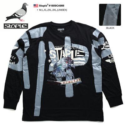 STAPLE(ステイプル)のロンT(長袖Tシャツ)