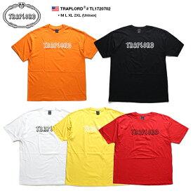 トラップロード TRAPLORD Tシャツ 半袖 メンズ レディース オレンジ 黒 白 黄色 赤 M L XL 2L LL 2XL 3L XXL 大きいサイズ b系 ヒップホップ ストリート系 ファッション ブランド 服 かっこいい おしゃれ 定番 シンプル ビッグシルエット エイサップ モブ TL1720702