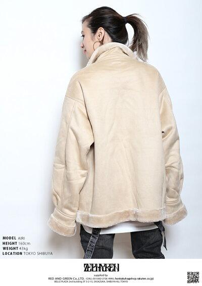 Zephyren(ゼファレン)のボアジャケット