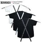 ゼファレン Zephyren Tシャツ ロング丈 半袖 【Z18PH04】 かっこいい 胸ポケット ビッグシル…