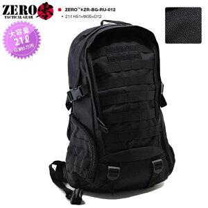 零 ZERO 大容量 バックパック リュック BAG メンズ レディース 黒 21L かっこいい おしゃれ 無地 シンプル 高機能 サバゲー サバイバルゲーム タクティカル ミリタリー BDU 装備 アウトドア 釣り