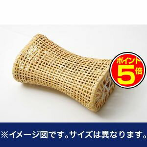 ●ポイント5倍●枕 まくら 籐枕 籐まくら ピロー 通気性抜群 蒸れない 『籐枕』 約30×17cm【代引不可】 [13]