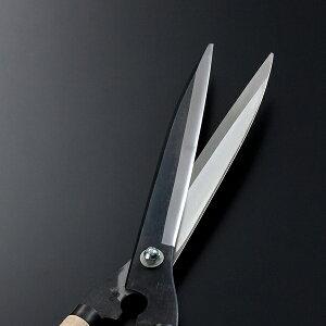 鍛冶職人の熟練芸【手すき裏】極上青紙鋼刈込鋏【240mm長柄】