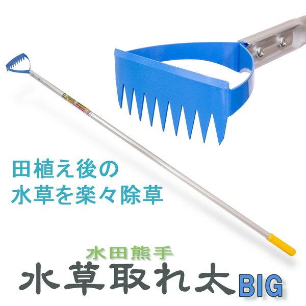 水田熊手 水草とれ太ビッグ DK-818 幅広タイプ 田んぼ