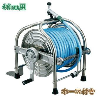 有不锈钢软管绕线机洒水最高质量日本制造40m软管